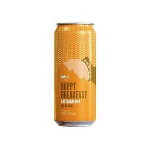Cerveja Dádiva Hoppy Breakfast #1 Oat Cream Double IPA Lata - 473ml
