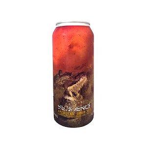 Cerveja Spartacus Sequence American Sour Ale C/ Framboesa, Mirtilo, Baunilha e Lactose Lata - 473ml
