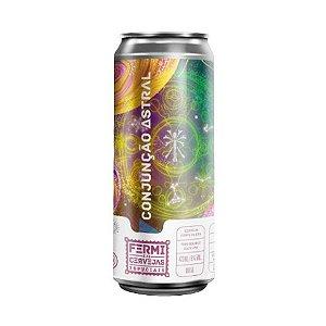 Cerveja Fermi Conjunção Astral Double Hazy IPA Lata - 473ml