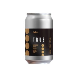 Cerveja Dádiva True 2 Coffee Russian Imperial Stout C/ Carvalho Americano e Café Lata - 350ml
