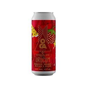 Cerveja Oca Urucum Fruited Sour Ale C/ Morango, Maracujá, Hibisco e Urucum Lata - 473ml [ENVIO A PARTIR DE 28/09]