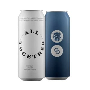 Cerveja Satélite + Other Half All Together New England IPA Lata - 473ml