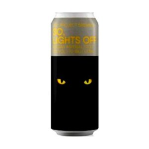 Cerveja Joy Project So, Lights Off Baunilha e Avelã Russian Imperial Stout Lata - 473ml