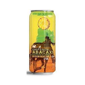 Cerveja Juan Caloto Obsessión Por Abacaxi Juicy IPA C/ Abacaxi e Limão Lata - 473ml
