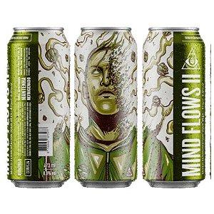 Cerveja Dogma Mind Flows II Sour IPA C/ Manga e Abacaxi Lata - 473ml