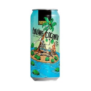Cerveja EverBrew Falling Coconut Juicy IPA Lata - 473ml