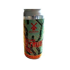 Cerveja Molinarius Citrus Oil New England IPA Lata - 473ml