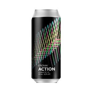 Cerveja Croma Action Double West Coast IPA Lata - 473ml
