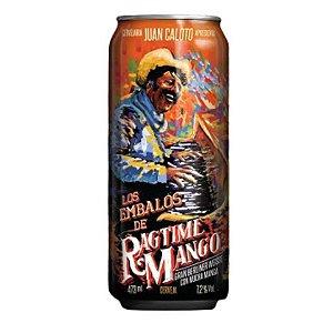 Cerveja Juan Caloto Los Embalos de Ragtime Mango Imperial Berliner Weisse C/ Manga Lata - 473ml