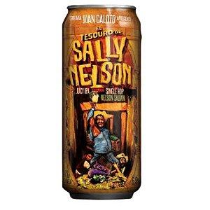 Cerveja Juan Caloto El Tesouro de Sally Nelson Juicy IPA Lata - 473ml