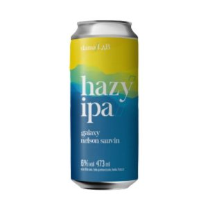 Cerveja Dama Bier Dama Lab #4 Hazy IPA Galaxy e Nelson Sauvin Lata - 473ml