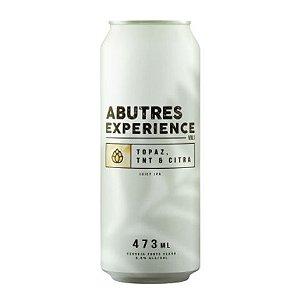 Cerveja Abutres Experience Vol 1 Topaz, TNT & Citra Juicy IPA Lata - 473ml