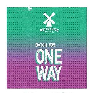 Cerveja Molinarius One Way Batch #05 New England IPA Lata - 473ml