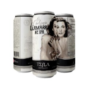 Cerveja Tesla O Código Lamarr New England IPA Lata - 473ml