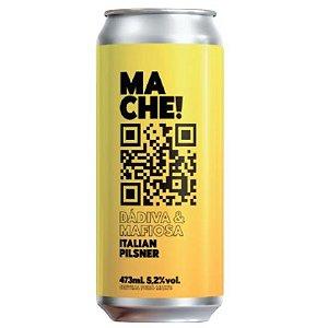 Cerveja Dádiva + Mafiosa Ma Che! Italian Pilsner Lata - 473ml