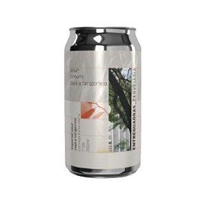 Cerveja Entrequadras Sour Cream Cajá e Tangerina Lata - 473ml