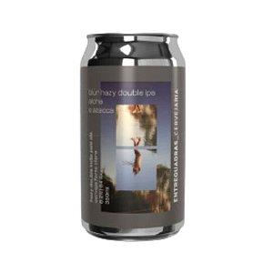 Cerveja Entrequadras Blur Double Hazy IPA Azacca e Aloha Lata - 350ml