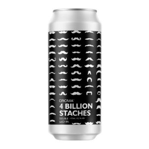 Cerveja Croma 4 Billion Staches Double Juicy IPA Lata - 473ml