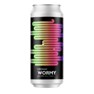 Cerveja Croma Wormy Juicy IPA Lata - 473ml