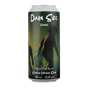 Cerveja Cia Hop Dark Side Vanilla Russian Imperial Stout Lata - 473ml