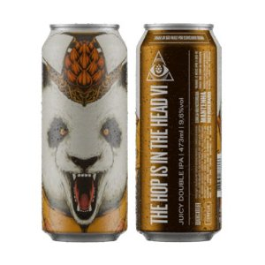 Cerveja Dogma The Hop Is In The Head VI Juicy Double IPA Lata - 473ml