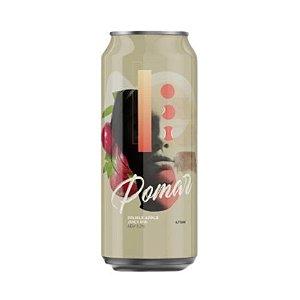 Cerveja HopMundi Pomar Double Apple Juicy IPA Lata - 473ml