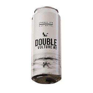 Cerveja Abutres Double Vulture #2 Double IPA Lata - 473ml