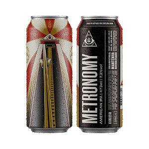 Cerveja Dogma Metronomy West Coast IPA Lata - 473ml