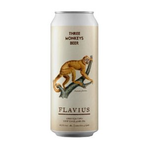Cerveja Three Monkeys Flavius New England IPA Lata - 473ml