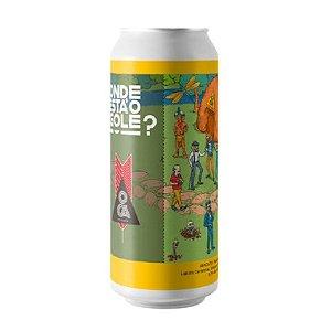 Cerveja Oca Onde Está O Gole? Aracatu West Coast Double IPA Lata - 473ml