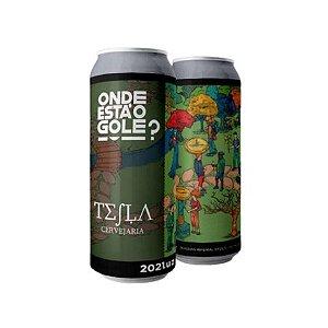 Cerveja Tesla Onde Está O Gole? 202Luz Russian Imperial Stout C/ Cacau e Laranja Lata - 473ml