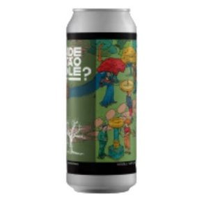 Cerveja Tábuas Onde Está O Gole? Double New England IPA Lata - 473ml