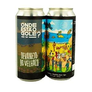 Cerveja Devaneio do Velhaco Onde Está O Gole? Gandaia Double Juicy IPA Lata - 473ml
