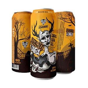 Cerveja Demonho Quebrando A Cabeça American Sour Ale C/ Framboesa, Baunilha e Avelã Lata - 473ml