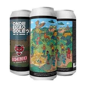 Cerveja Demonho Onde Está O Gole? American Sour Ale C/ Maracujá, Café, Cardamomo e Baunilha Lata - 473ml