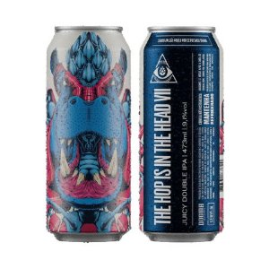 Cerveja Dogma The Hop Is In The Head VII Juicy Double IPA Lata - 473ml