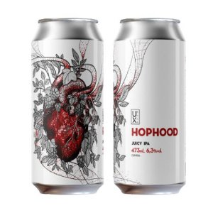 Cerveja UX Brew HopHood Juicy IPA Lata - 473ml