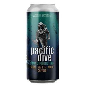 Cerveja Under Tap + Escafandrista Pacific Dive New England IPA Lata - 473ml