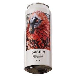 Cerveja Abutres Barbatus Imperial Sour C/ Framboesa, Amora, Mirtilo e Morango Lata - 473ml