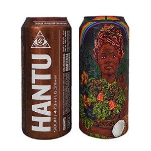 Cerveja Dogma Hantu Sour C/ Cajá, Cajú e Melado de Cana Lata - 473ml