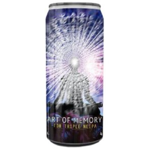 Cerveja Spartacus Art Of Memory TDH Triple NEIPA Lata - 473ml
