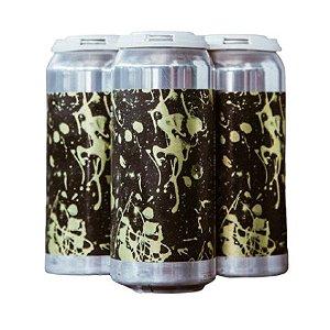 Cerveja Koala San Brew Lazy Ways Imperial Creamscicle Sour C/ Abacaxi, Baunilha e Lactose Lata - 473ml