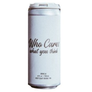 Cerveja Koala San Brew Who Cares What You Think West Coast Double IPA Lata - 473ml