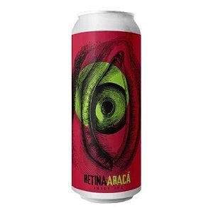 Cerveja Infected Brewing + Cruls Retina Araçá Juicy IPA C/ Abacaxi e Araçá Lata - 473ml