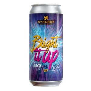 Cerveja Synergy Bright It Up New England IPA Lata - 473ml