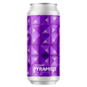 Cerveja Croma Pyramids Double West Coast IPA Lata - 473ml