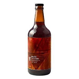 Cerveja 5 Elementos Bruño Collado American Sour Ale C/ Coco e Abacaxi - 500ml