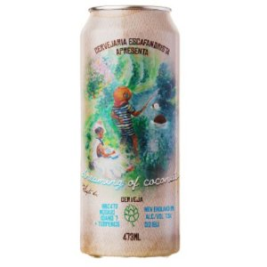 Cerveja Escafandrista Dreaming of Coconuts New England IPA C/ Terpenos Lata - 473ml