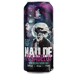 Cerveja Under Tap Nau de Pesadelos Imperial Sour Ale C/ Cereja da Mata, Blueberry e Framboesa Lata - 473ml