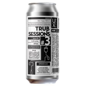Cerveja Ux Brew Trub Sessions #3 Juicy IPA Lata - 473ml